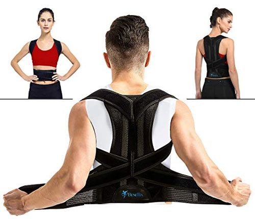 Beneflix Breathable Back Support Brace