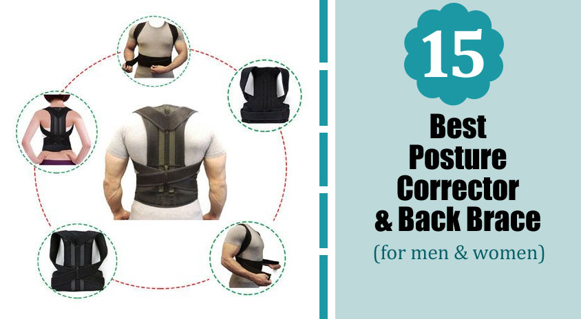 Best Posture Corrector Back Brace for Men & Women 2019