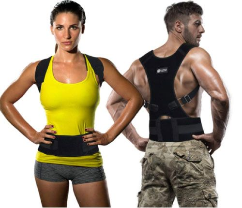 Copper Compression Posture Corrector for Men & Women