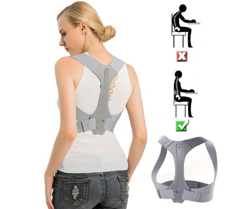 EOYEA Posture Corrector Back Support Brace for Women & Men