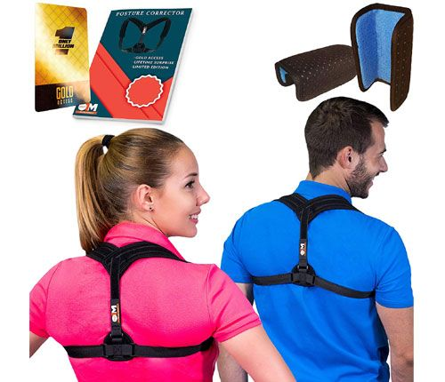 Only 1 million Posture Corrector for Women & Men