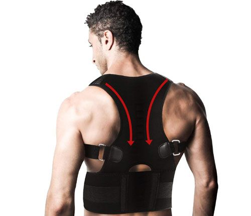 REXSO Back Posture Corrector for Women and Men