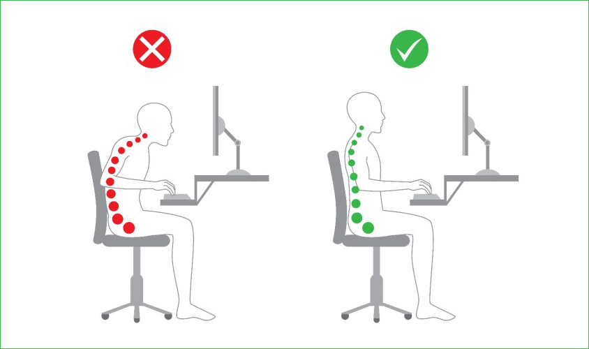 Correctly Maintain Your Computer Sitting Position