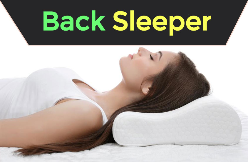 Back Sleeper With Pillow