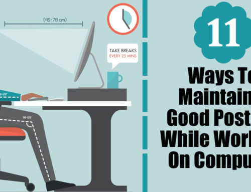 11 Ways To Maintain Good Posture While Working On The Computer