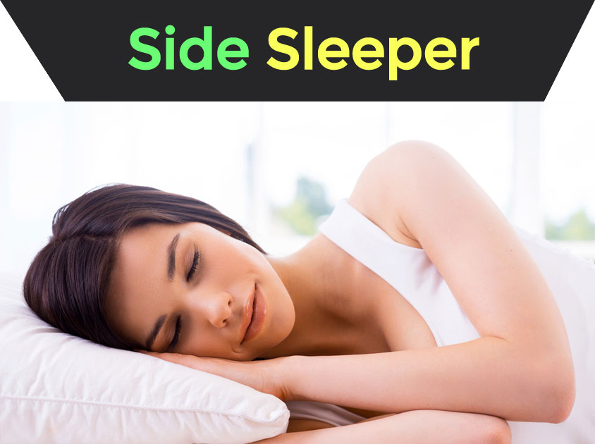 Side Sleeper With Pillow