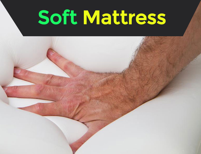 A Soft Mattress Can Improve Posture for Light Sleepers With Back Pain