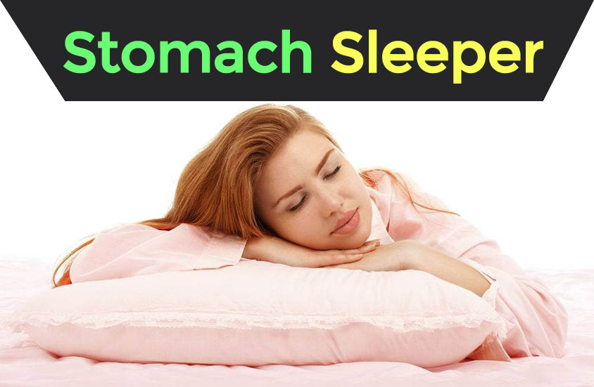 Stomach Sleeper With Pillow