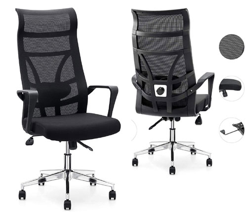 Allguest Executive Office High Back Elastic Mesh Chair Review