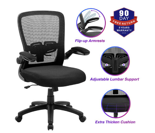 ZLHECTO Ergonomic Office Desk Chair Review
